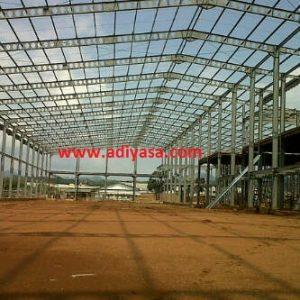kontruksi rumah bahan baja